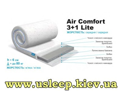 Матрас SleepRoll Air Comfort 3+1 Lite